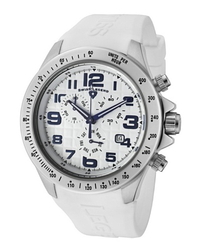 Swiss Legend Reloj Eograph Chrono Blanco