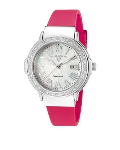 Swiss Legend Reloj South Beach Rosa