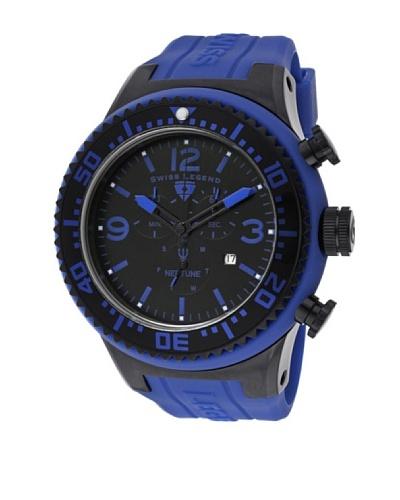Swiss Legend Reloj Neptune Chrono Azul