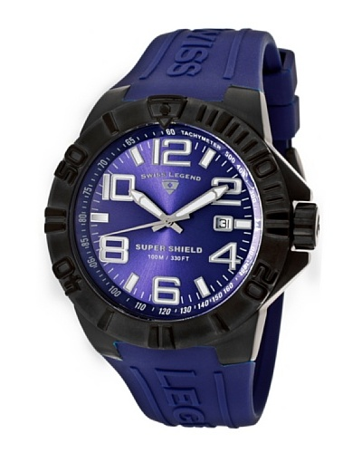 Swiss Legend Reloj Super Shield Azul