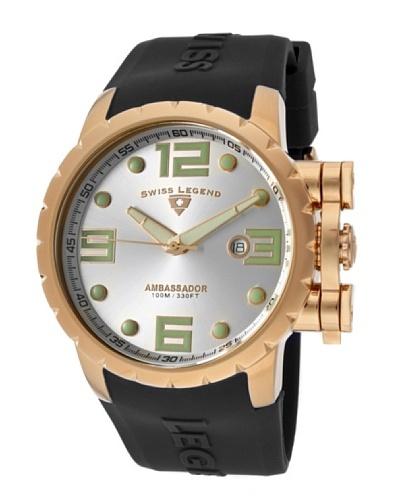 Swiss Legend Reloj Ambassador Negro