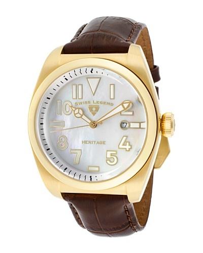 Swiss Legend Reloj Heritage Marrón