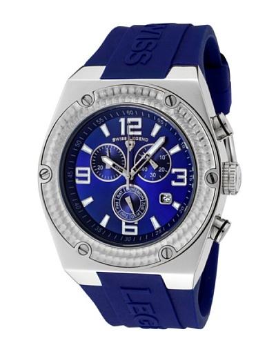 Swiss Legend Reloj Throttle Azul