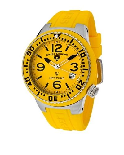 Swiss Legend Reloj Neptune Amarillo