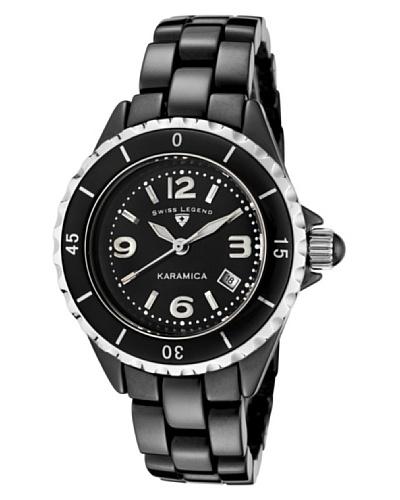 Swiss Legend Reloj Karamica Negro