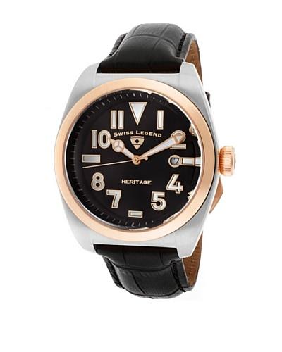 Swiss Legend Reloj Heritage Negro