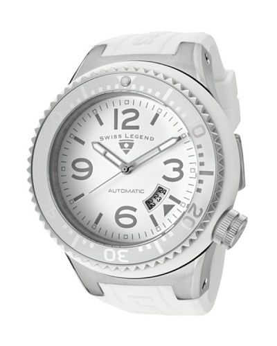 Swiss Legend Reloj Neptune Automatic Blanco