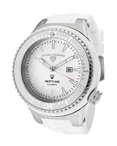 Swiss Legend Reloj Neptune Automatic Blanco