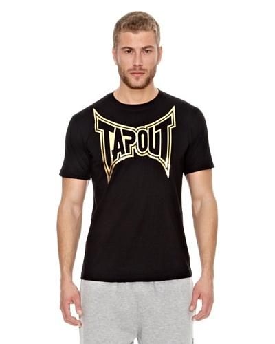 Tapout Camiseta Crew Negro