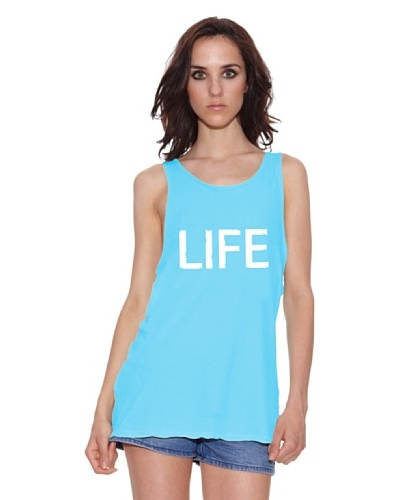 The Hip Tee Camiseta Skull Life Turquesa
