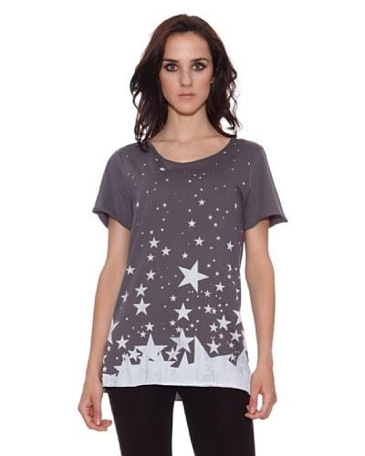 The Hip Tee Camiseta 1000 Stars Negro Lavado