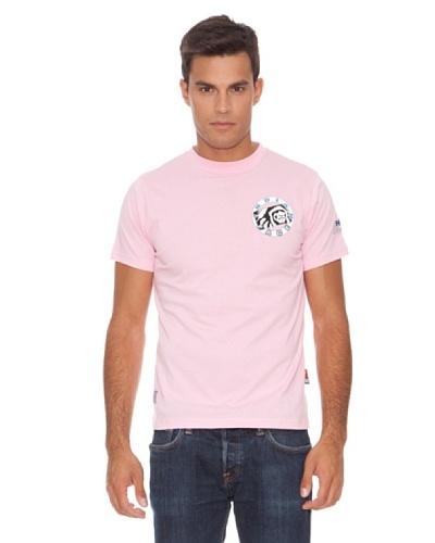 The Indian Face Camiseta Parche Rosa