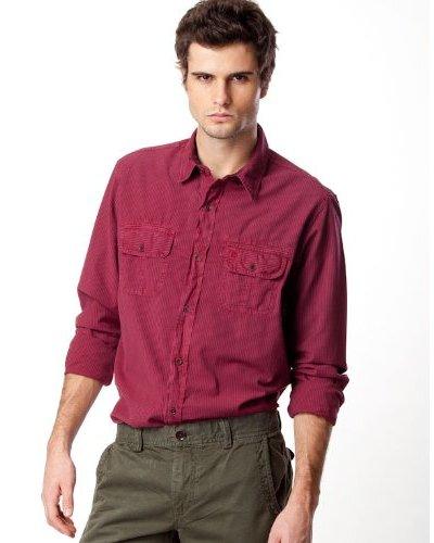Timberland Camisa Rayas Granate