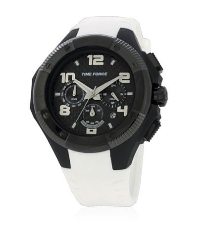 Time Force Reloj TF4151M16 Blanco / Negro