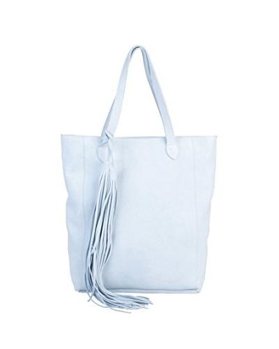 Titi Couture Bolso Tassel Shopper Azul Celeste