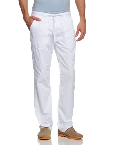 Tom Tailor Pantalón Casual Blanco