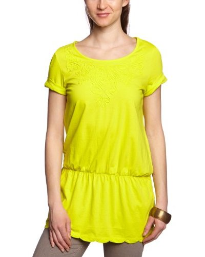 Tom Tailor Camiseta Marylise Amarillo
