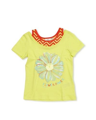 Tom Tailor Camiseta Pensamiento Amarillo