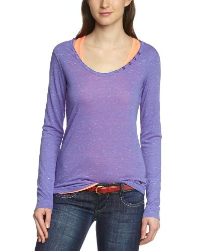 Tom Tailor Camiseta Palmi Morado