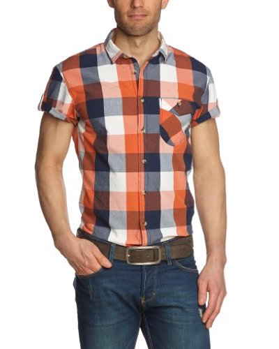 Tom Tailor Camisa Brugnera Naranja