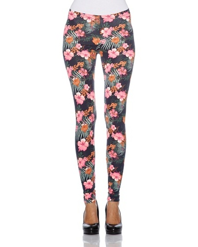 Tom Tailor Leggings Castel Rigone Rosa / Verde / Azul