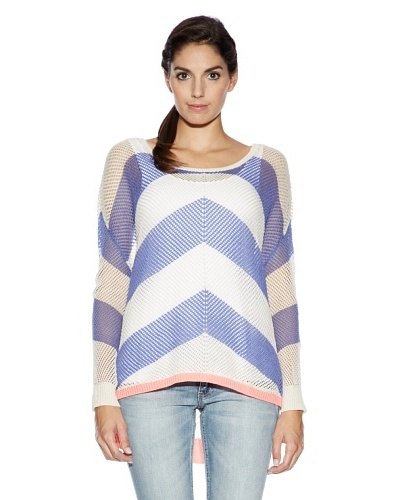 Tom Tailor Jersey Collazzone Blanco / Morado