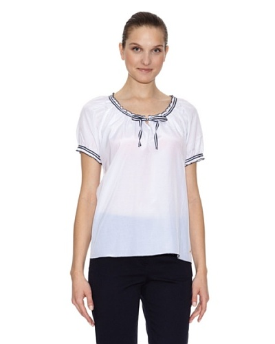 Tommy Hilfiger Camisa Top Clea White Blanco