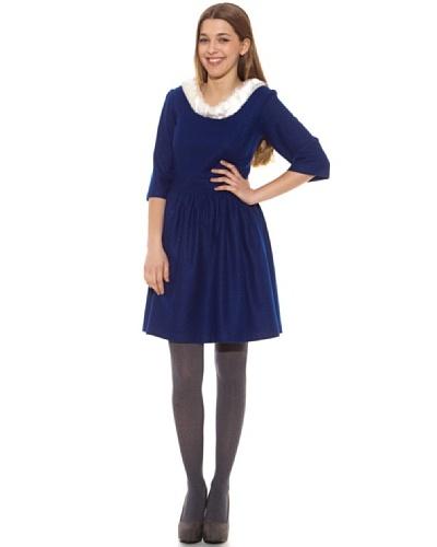 Tracabarraka Vestido Agueda Azul