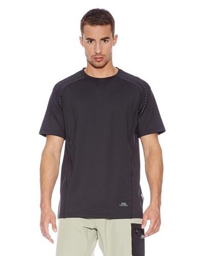 Trespass Camiseta Manta Negro
