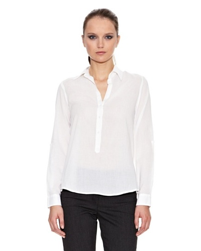 Trucco Camisa Flori Blanco