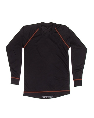 UNNO Camiseta Thermal Junior Negro