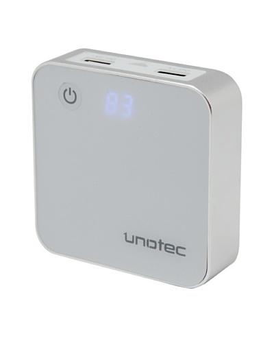 Unotec Batería externa 2xUSB de alta capacidad 6600mah