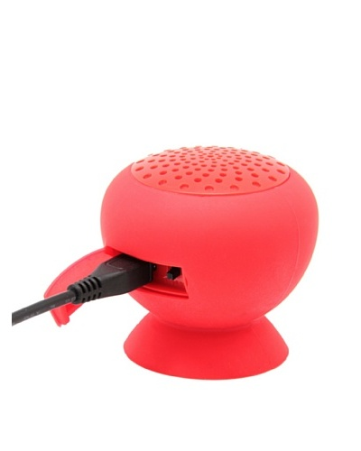 Unotec Altavoz Bluetooth Con Manos Libres Unotec Maxkeeper Rojo