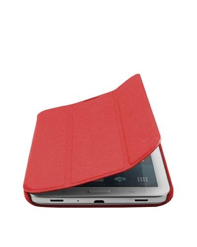 Unotec Funda Smart Cover Roja Tab3 7 Pulgadas