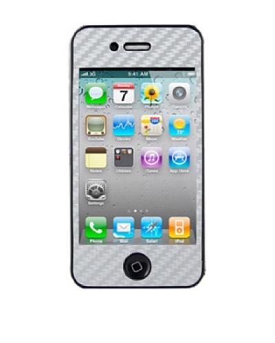 Unotec Vinilo Decorativo Fiber Skin Iphone4 Blanco