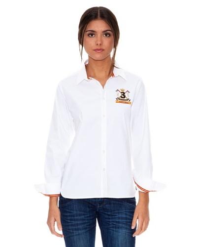 Valecuatro Camisa Logo Blanco