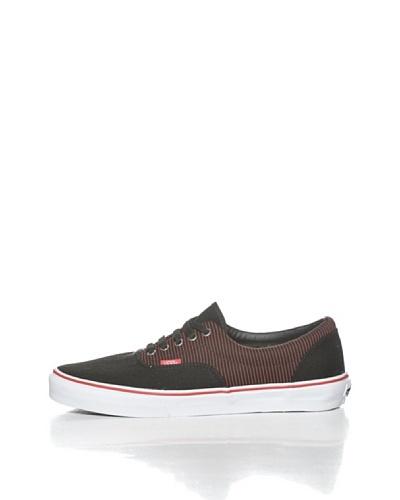 Vans U Era Woven Zapatillas Negro / Rojo