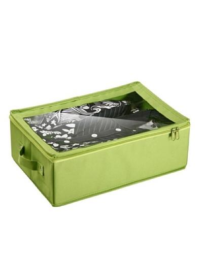 Versa Caja con ventana almacén pequeña Verde