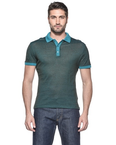 Versace Collection Polo Donnan Verde Oscuro