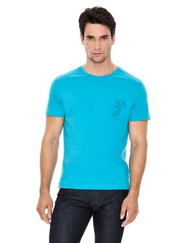 Versace Jeans Camiseta Logo Bordado