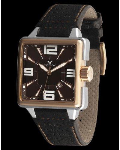 Viceroy 43643-45 – Reloj piel con perforaciones