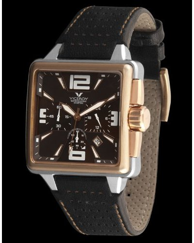 Viceroy 43645-45 - Reloj de Caballero piel