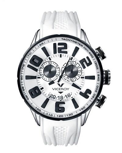 Viceroy 432109-05 - Reloj cronógrafo unisex de cuarzo con correa de caucho