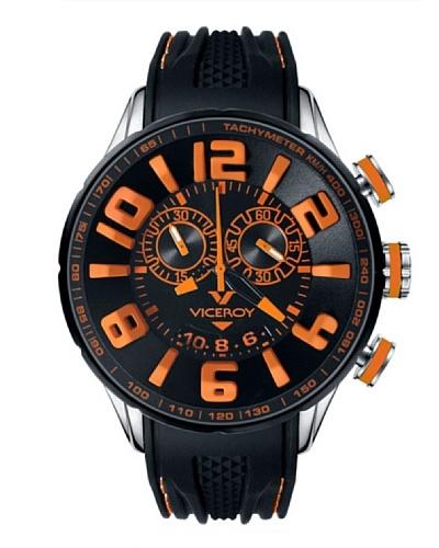 Viceroy 432109-45 - Reloj cronógrafo unisex de cuarzo con correa de caucho