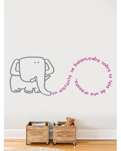 Viniloestil Vinilo infantil Elefante