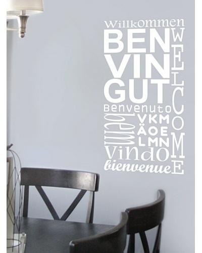 Viniloestil Vinilo textual Benvinguts