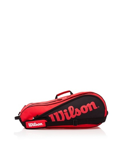 Wilson Raquetero Bolsa Tour Six Rojo
