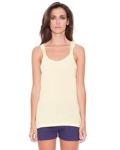 Women secret Camiseta Tirantes Amarillo