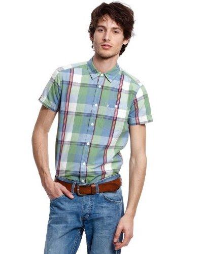 Wrangler Camisa Check Faded Verde / Rojo