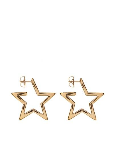 Yanes Pendientes Twinkle Plata Dorada Estrella